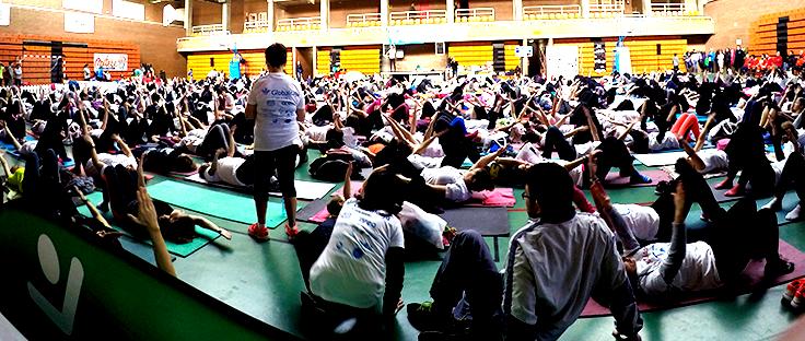 Reproalba con el II Pilates Solidario por Afanion