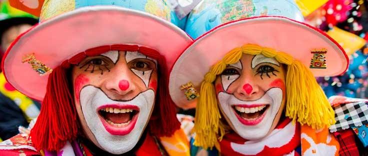 Lista de artículos para Carnaval