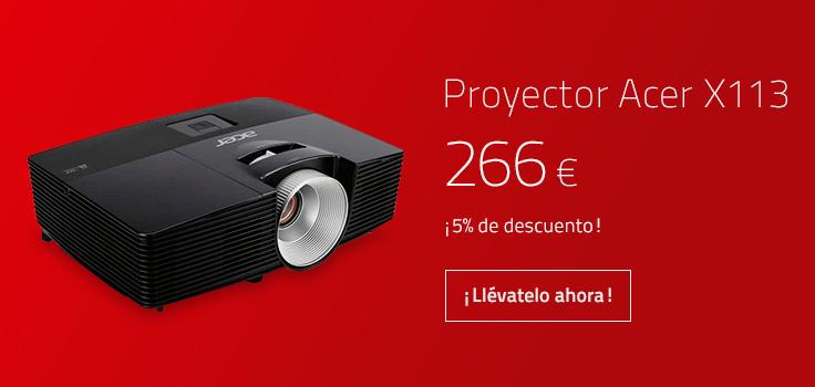 Proyector Acer X113