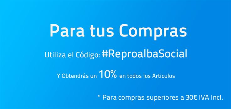 Slider 10% #ReproalbaSocial