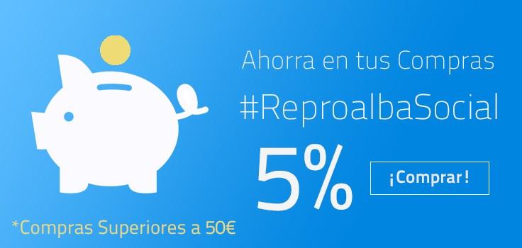 Slider 5% #ReproalbaSocial