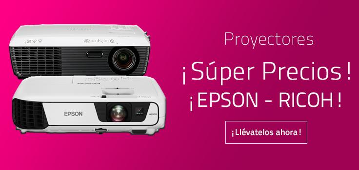 Imagen Proyectores Super Precios EPSON RICOH