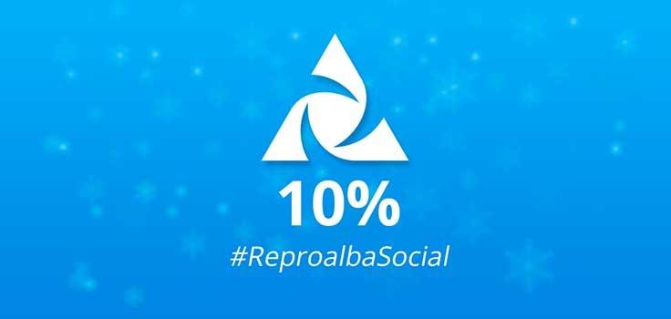 Slider #ReproalbaSocial 10%