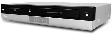 Reproductor de DVD y Vídeo LG V-190