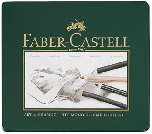 Juego de Carbón Faber-Castell Pitt
