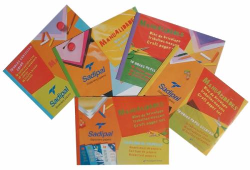 Cuadernillos para Manualidades Sadipal