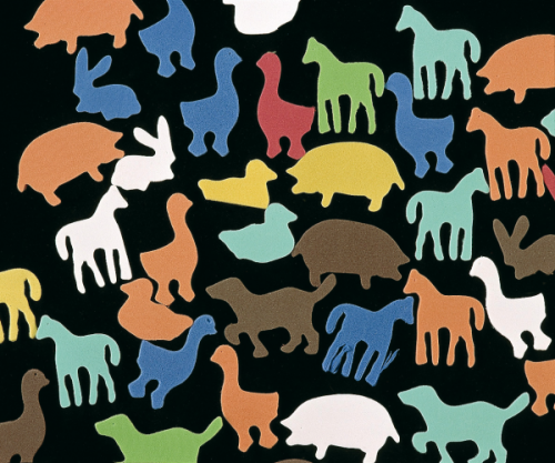 Animales de Goma Eva
