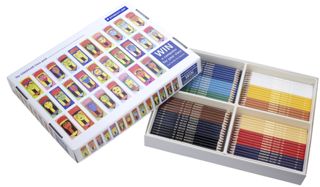 Kit Escolar Lápices de Color Staedtler
