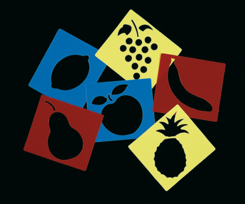 Plantillas Frutas