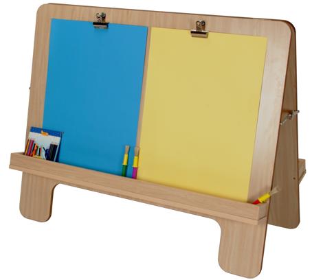 Caballete de pintura 4 ni os material escolar material - Caballetes para tableros ...