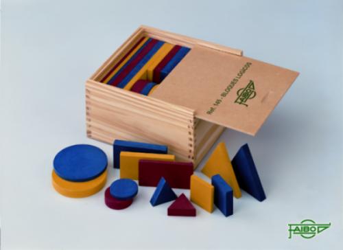 Bloques Lógicos de madera