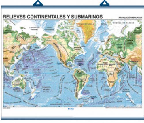 Mapas MuralesTemáticos Edigol (140x100 cms.)