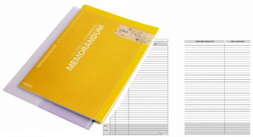 Cuaderno Memorándum Additio