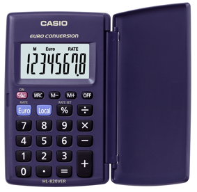 Calculadora Casio HL-820 VER