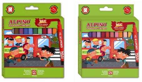 Rotuladores Alpino Maxi