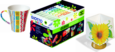 Kit Escolar Giotto Decor Materials