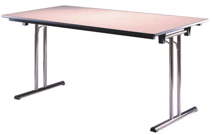 Mesa plegable 361 200x80 material escolar material de for Patas de mesa plegables