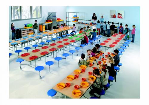 Mesa comedor plegable tc 65 material escolar material for Dibujo de comedor escolar