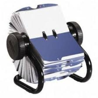 Fichero Rotativo Rolodex