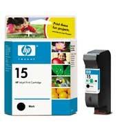 Cartucho HP C6615DE nº 15 Negro 25 ml.