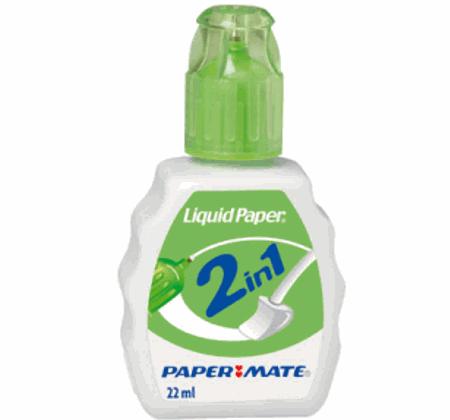 Corrector Liquid Paper 2 in 1