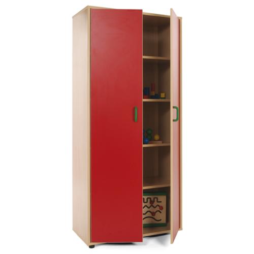 Armario con 2 puertas material escolar material de oficina for Perchas adhesivas para puertas