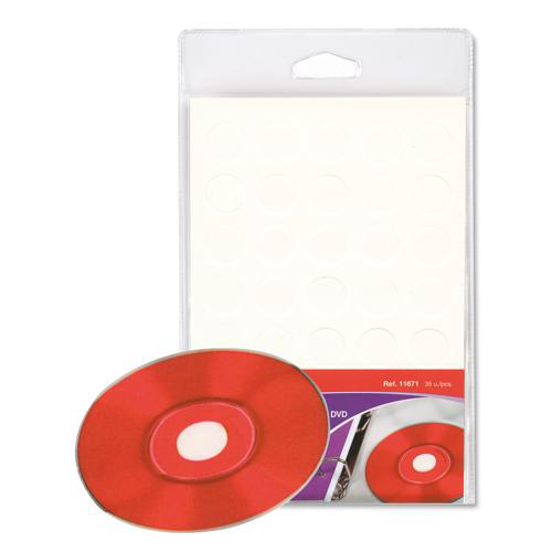 Botón adhesivo para CD/DVD