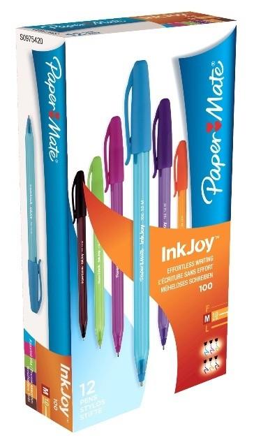 Bolígrafo Inkjoy Colores Surtidos.