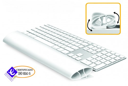 Reposamuñecas Flexible Fellowes I-Spire