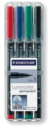 Estuches Staedtler Lumocolor Permanente