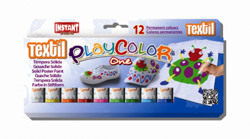 Témpera Playcolor One Textil