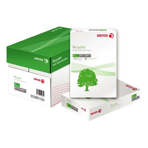 Papel Reciclado A4. Paq 500h Xerox 80gr