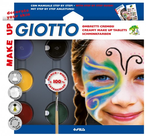 Set sombras cosméticas Giotto Make Up