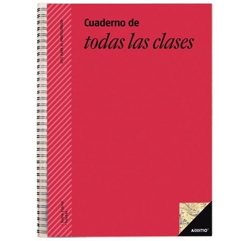 Cuaderno de todas las clases Additio