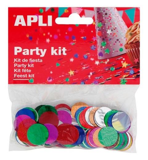 Confeti de colores Apli