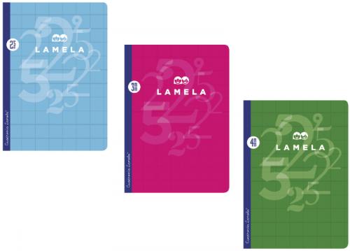 Libreta Cuadrovia A4 Lamela