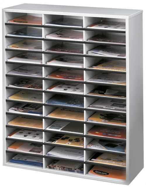 Organizador Documentos A4 horizontales 36 posiciones