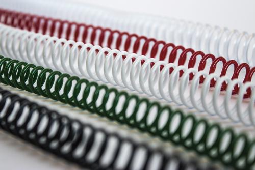 Espirales de plástico