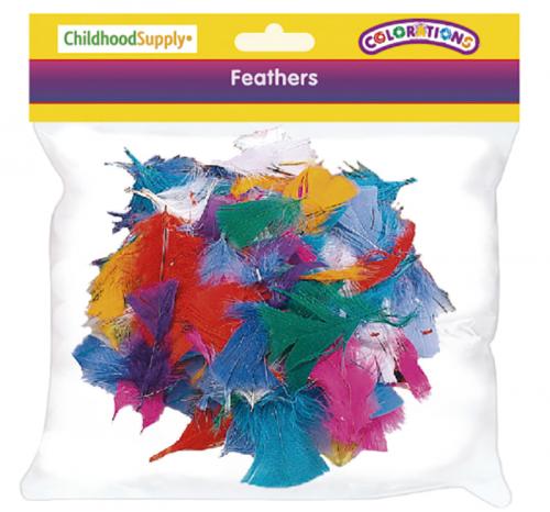 Pack escolar plumas arco iris