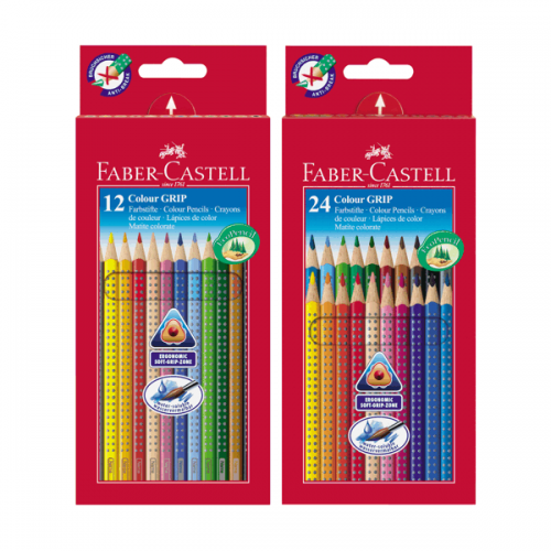 Ecolápices de color Grip Faber- Castell