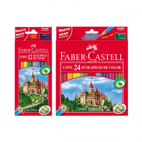 Ecolápices Faber- Castell de colores
