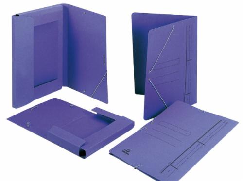 Carpetas de Cartón Azul