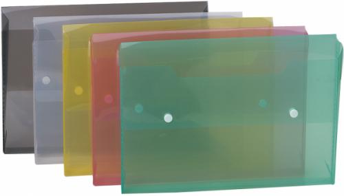 Carpetas Transparentes con Clip Data Bank