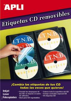 Etiquetas Mega CD-DVD