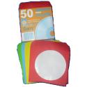 Fundas papel CD/DVD Colores SAM