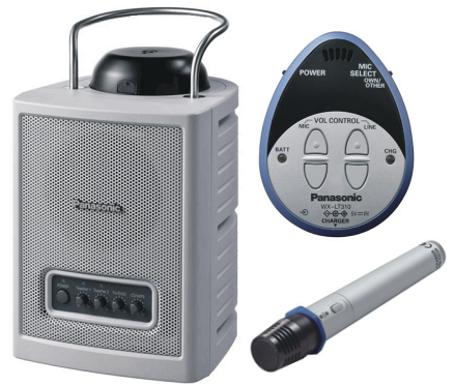 Audio Portátil Wireless Pacom