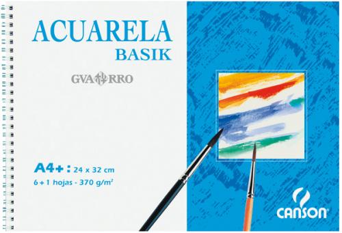 Bloc para Acuarela y témpera  Guarro Basik