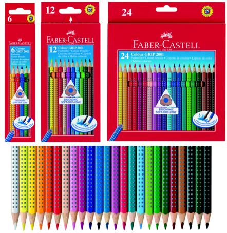Lápices Faber Grip 2001 en Colores