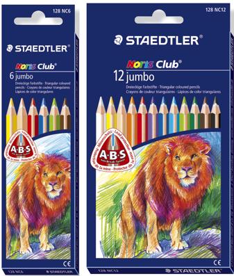 Lápices Staedtler Triplus 128 en Colores