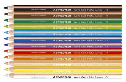 Cajas 12 lápices Triplus 128 Unicolor